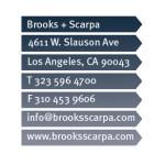Brooks + Scarpa