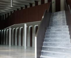 decustic acoustic panels in Auditorio Las Llamas - Santander