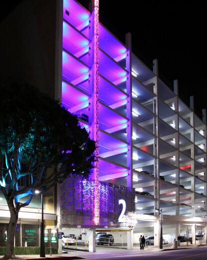 Santa Monica Municipal Parking Garage