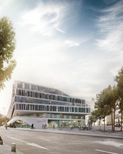 University building in Stuttgart