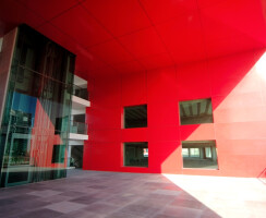 inside the red cube