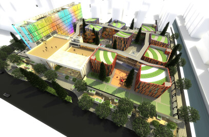 New XIUYI Kindergarten Proposal / Studio 7 of Urban Architecture China