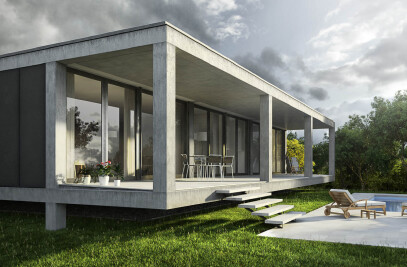 Architectural visualization single house Cala Pi, Majorca