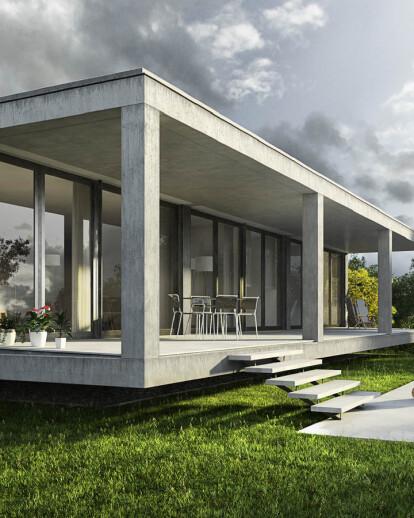 Architectural visualization single house Cala Pi, Majorca
