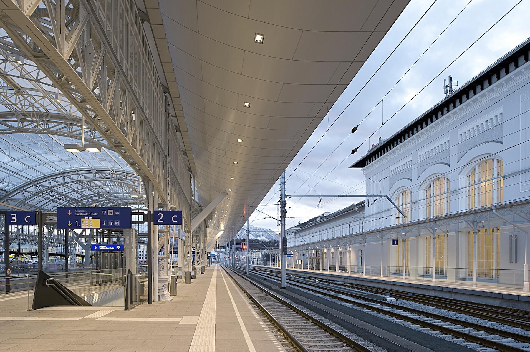 Salzburg Central Train Station