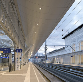 Salzburg Central Train Station