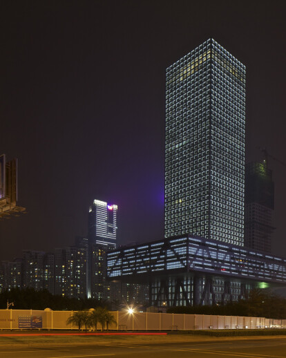The New Headquarters for the Shenzhen Stock Exchange