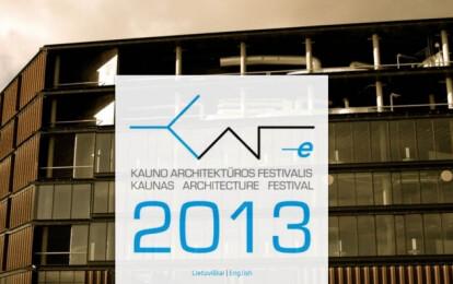 Kaunas Architecture Festival 2013