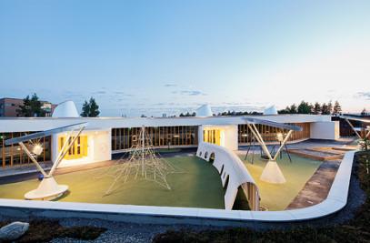 Children's House in Saunalahti