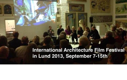 International Architecture Film Festival in Lund