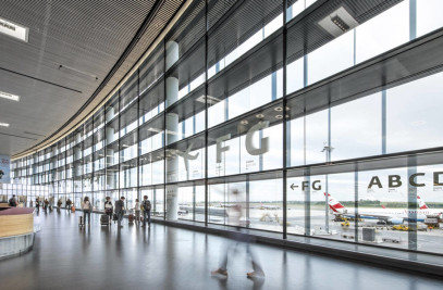 """Vienna Airport """"Terminal Check in 3"""""""