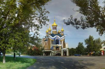 The Church of the Svjatogo Duha. Ukraine - Kiev (Церковь Святого Духа. Украина - Киев)