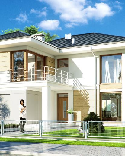 Projekty domów MGProjekt