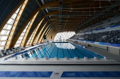 Palace of Water Sports in Kazan