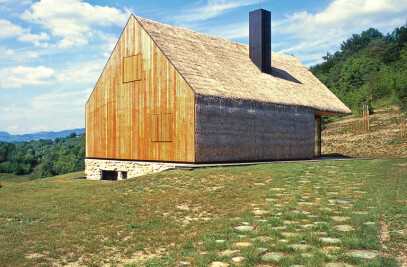 Contemporary interpretation of a traditional Zagorje cottage