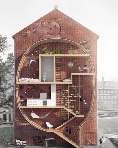 Live Between Buildings!