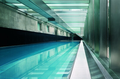 Swimming Pool / Terrace, Addition to a Historic Building