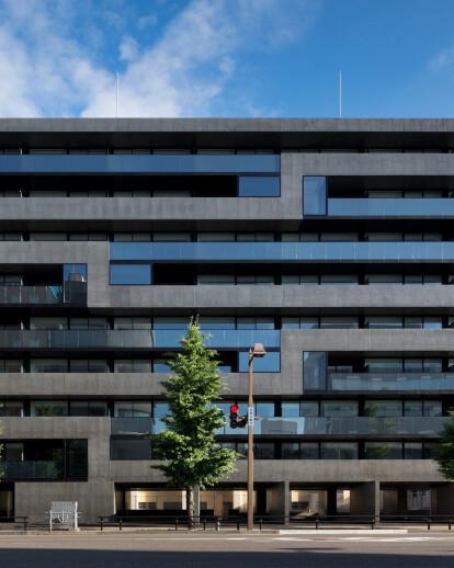 Housing Complex Niigata