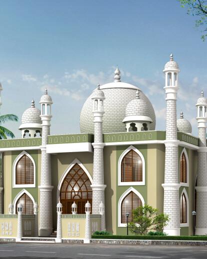 Mosque at kayamkulam