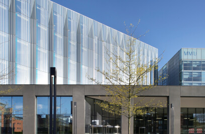 Manchester Metropolitan University Business School & Student Hub