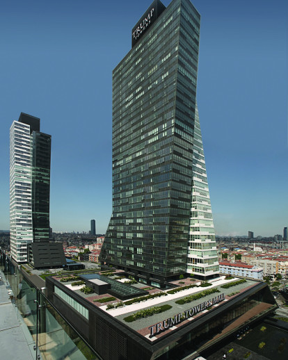 Image result for images of two Trump Towers in Istanbul