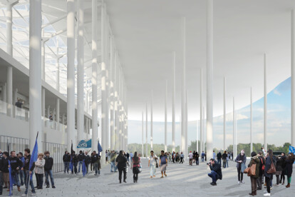 Competition for Ruch Chorzow stadium in Poland (2013)