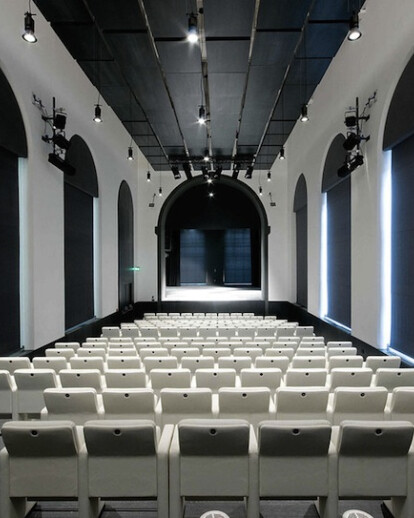 Theater of the Academy of Fine Arts, Naples, Italy, (2009)