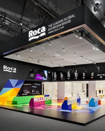 Roca Trade Fair Stand at ISH 2013
