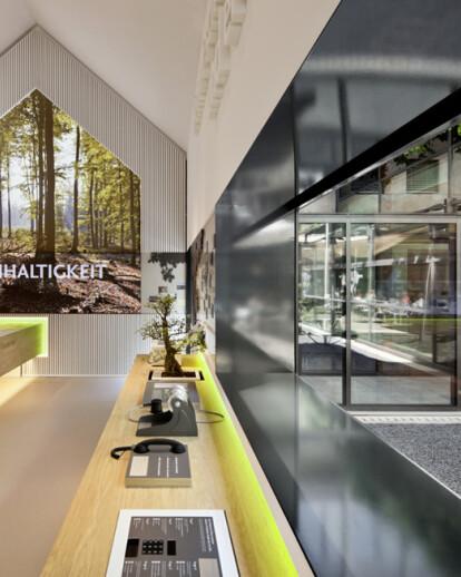 Schwaebisch Hall Brand House - Interior