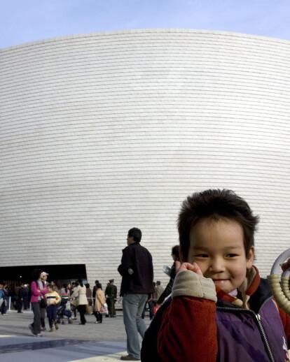 The Finnish Pavilion for Shanghai World Expo 2010