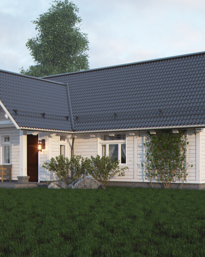Houm 68.7 m2, project company Home in the Woods