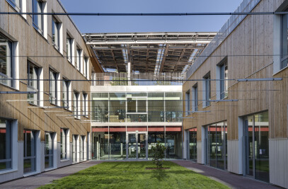 Zero Energy School and Sports Complex