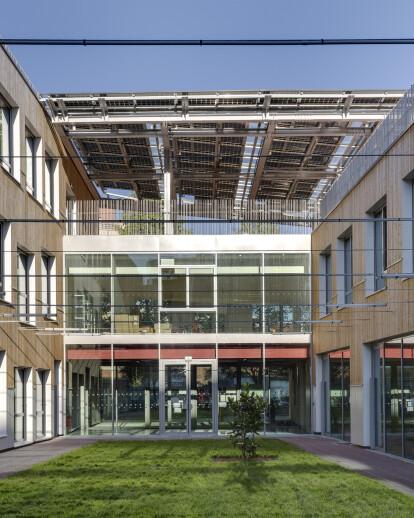 Zero Energy School and Sports Complex