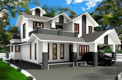 Ranjith's villa at idimuzhikkal, Ramanattukara
