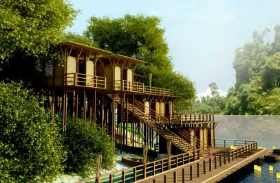 Resort for Bangladesh Parjatan Corporation