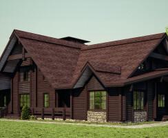 Wood house - MARY