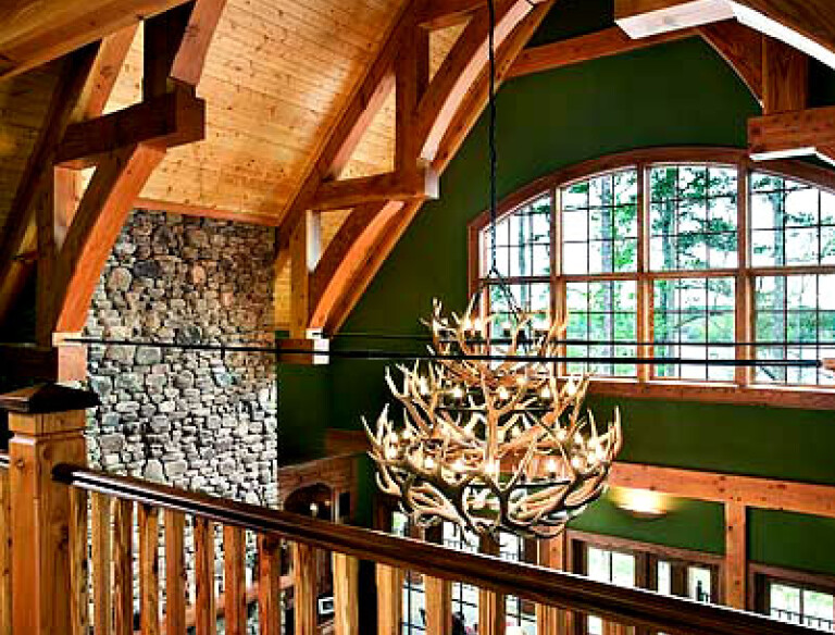 Timber Frame Clubhouse