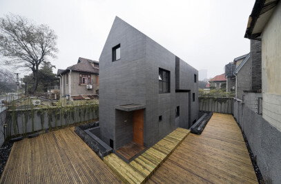 Concrete Slit House