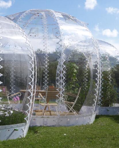 Invisible Garden House
