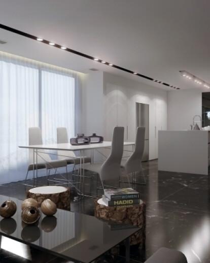 Luxury apartment design in Ramat Gan