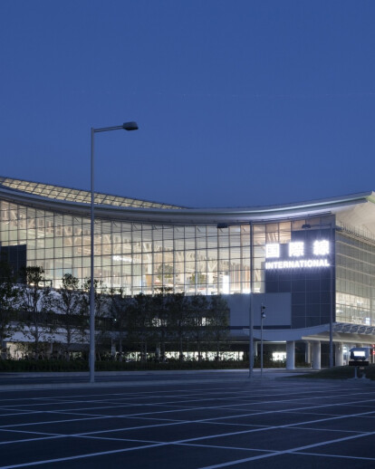 Tokyo International Air Terminal commercial zone
