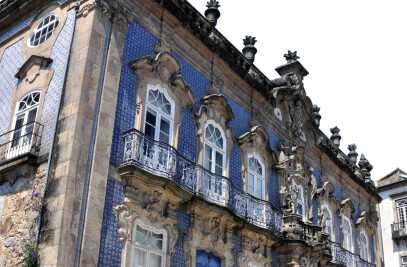 Palácio do Raio, XVIII century baroque palace in Braga