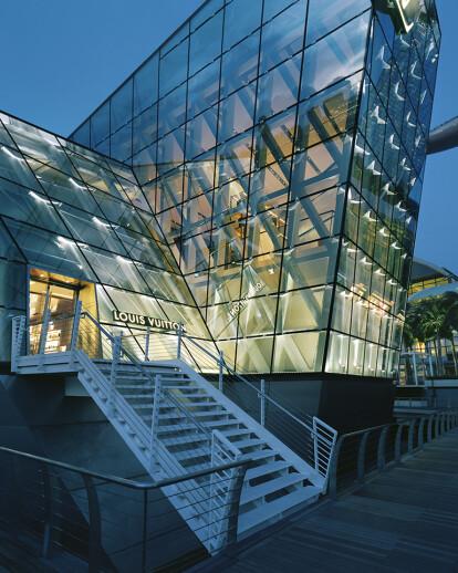 234a79a1a Crystal Pavilion (the Louis Vuitton Island Maison) | Safdie ...