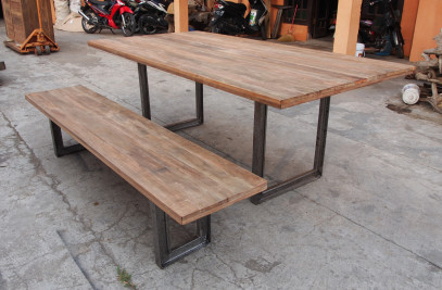 Set BK table and bench