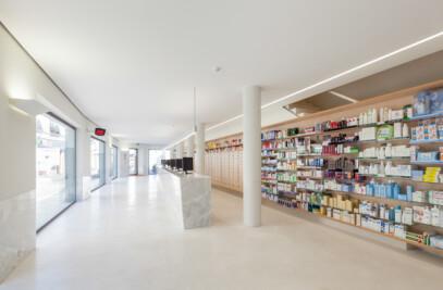 Quintans Pharmacy / SMRS Arquitectos