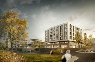 Extension to health centre in Dielsdorf