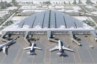 Perm Bolshoye Savino Airport New Terminal