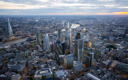 London's Growing… Up! The rise and rise of London's tall  buildings