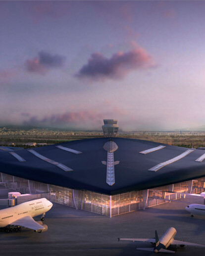 New Satellite Terminal Building at Barcelona Airport