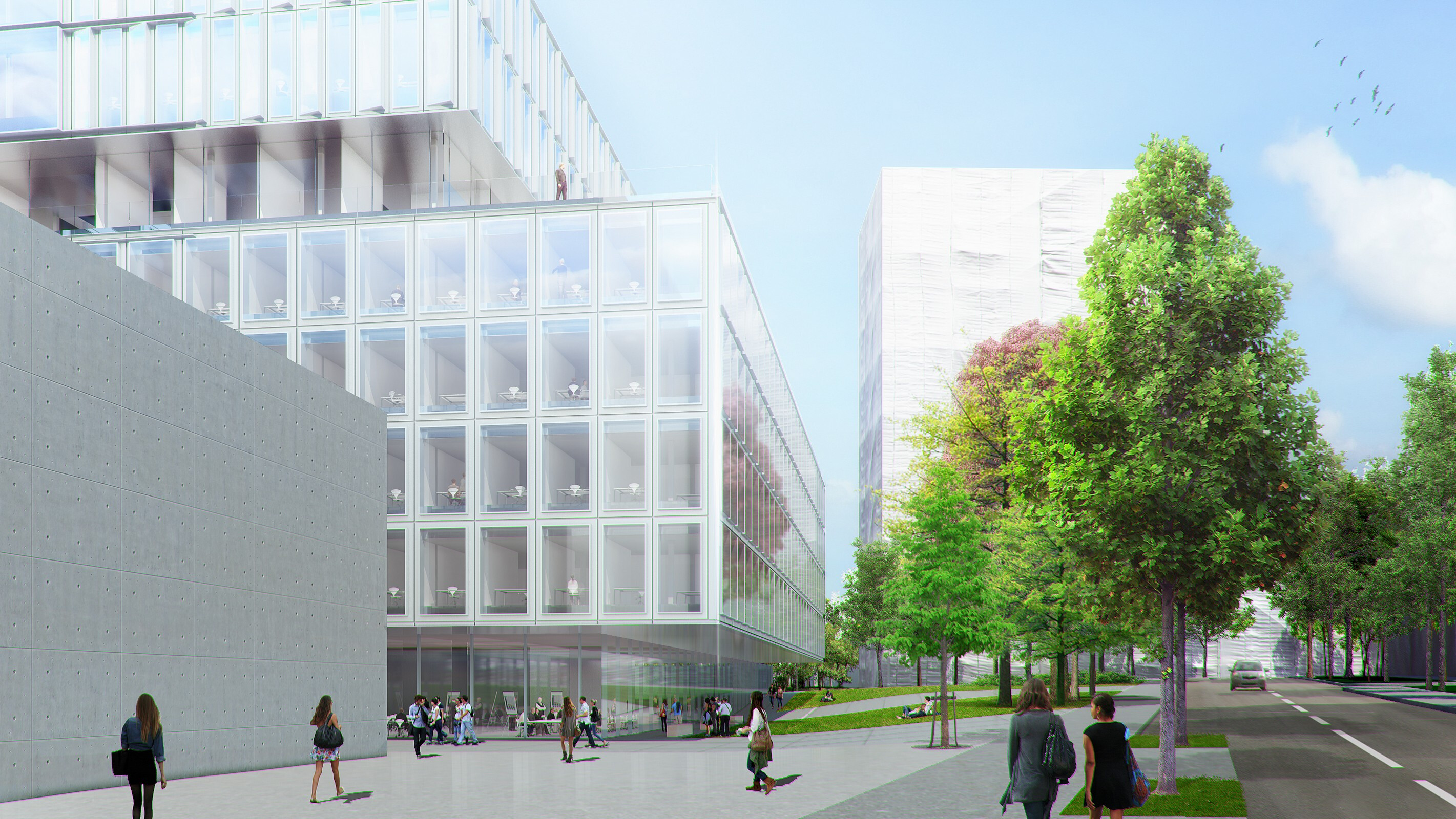 New ETHZ D-BSSE, laboratory and research building